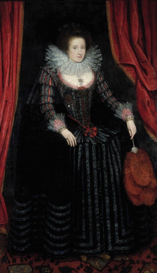 Lady Jean Drummond, Countess of Roxburghe, by Marcus Gheeraerts