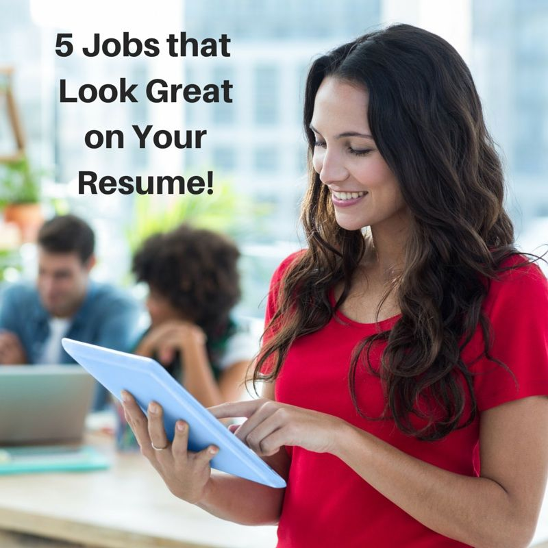 5 jobs to build your resume experience as a new grad
