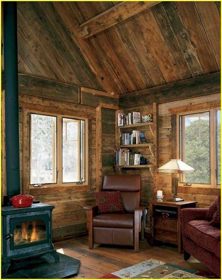 We Have 100 A Cozy Solution Ideas For Small Living Room Philanthropyalamode Com Popular Home Design Cabin Living Room Cabin Living Log Cabin Living