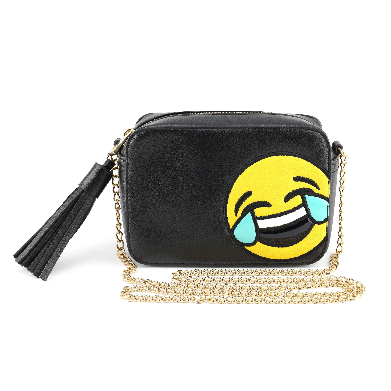 OM Olivia Miller 'lol Tears' Emoji Faux Leather and