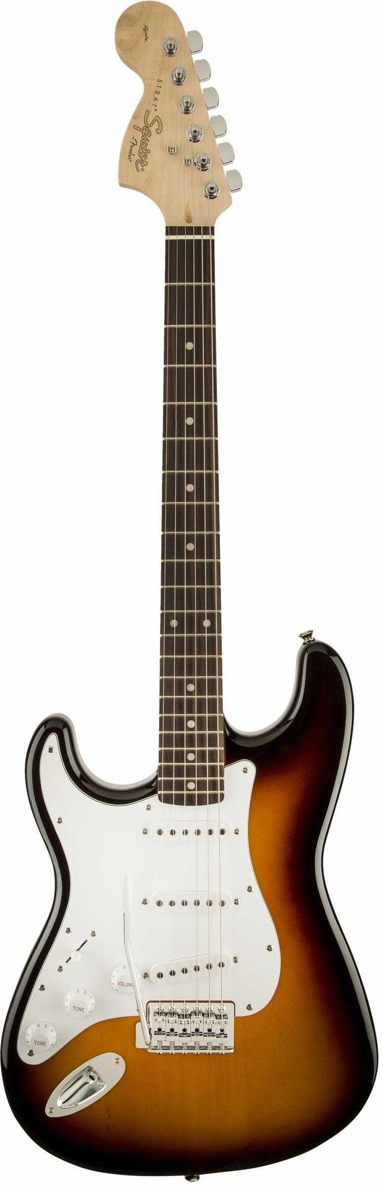 Fender Squier Affinity Strat Lefthand   Tonabnehmer, Schalter und ...