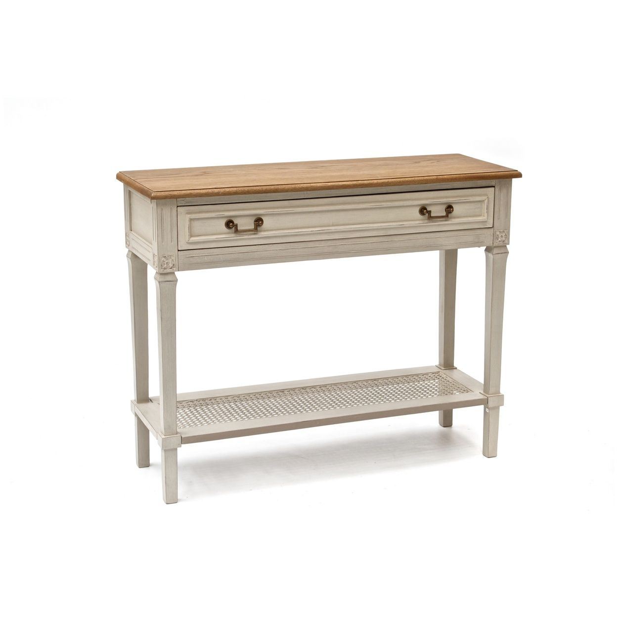 Willis & Gambier Oak And Painted 'Florence' Console Table