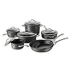 calphalon contemporary nonstick 12 piece cookware set for the rh pinterest nz