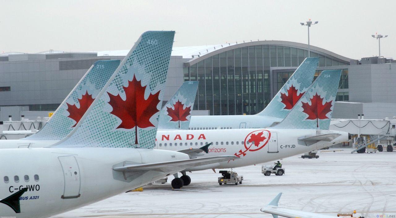 Air Canada Toronto Pearson international airport Air