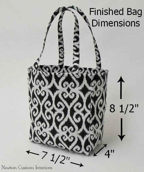 With this step-by-step tote bag tutorial 2722bc38dedc0