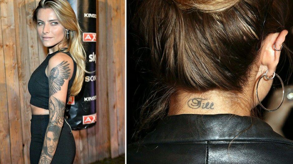 Sophia Thomalla Tattoo