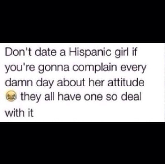 Dating a latino girl