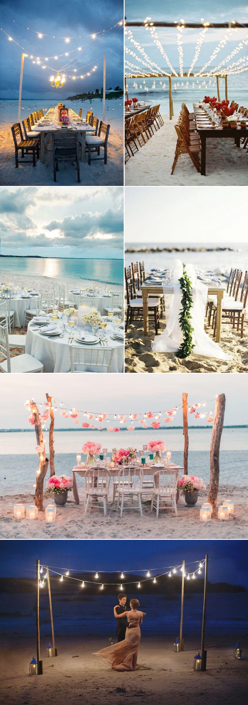 Wedding decoration ideas beach theme   Romantic Beach Themed Wedding Ideas  Signature style Creative