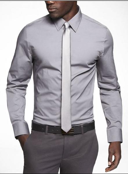 regis monochromatic tie and shirt lighter tie http