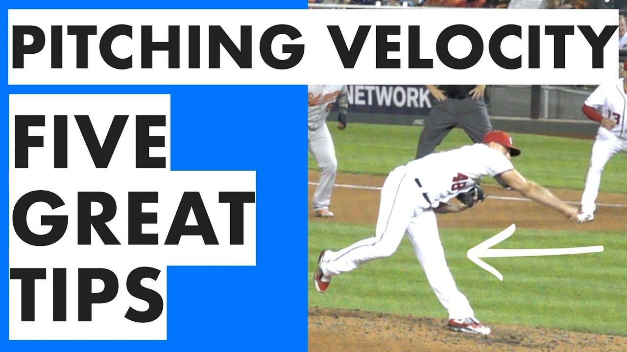 Pitching Velocity Tips How To Throw Harder In Baseball Youtube Baseball Baseball Tips Baseball Game Outfits