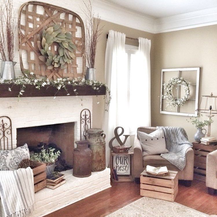 50 Lively And Inspiring Rustic Living Room Decorating Ideas That You Can Decorate Your Rooms With Modern Farmhouse Living Room Decor Farm House Living Room Farmhouse Decor Living Room