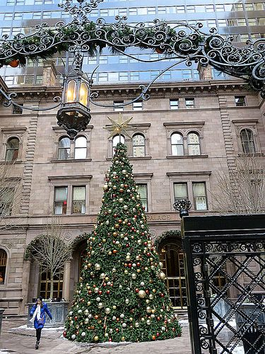New York Palace Hotel  At Christmas   455 Madison Avenue