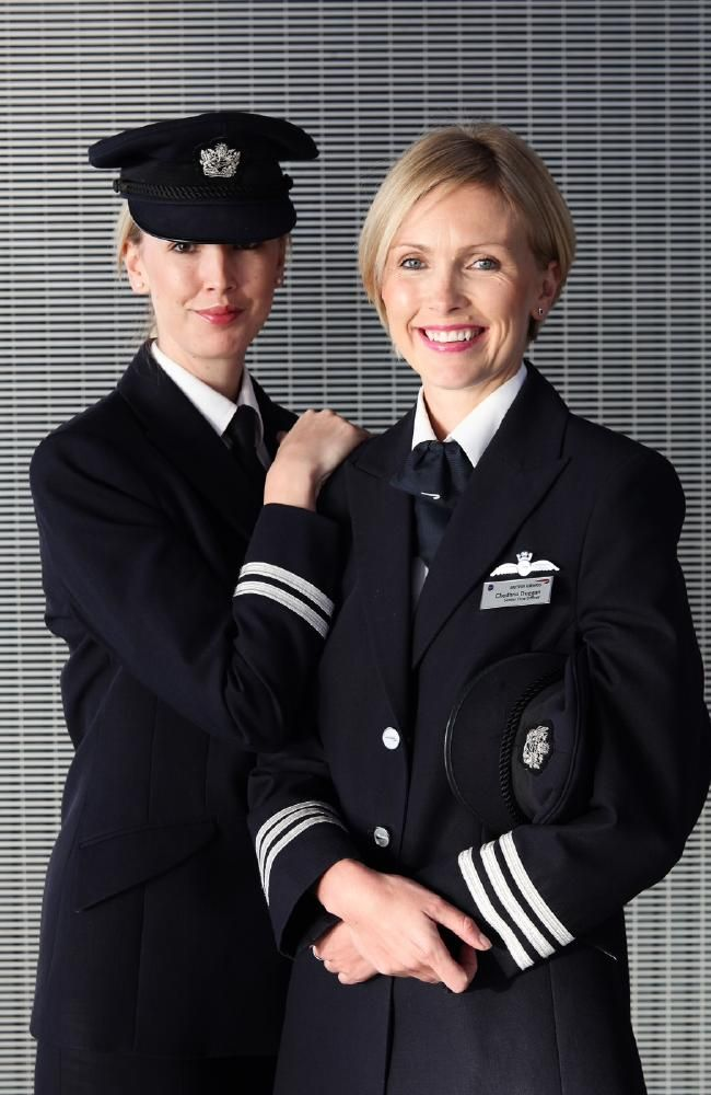 AOIFE Duggan, the first female First Officer for British Airways ...