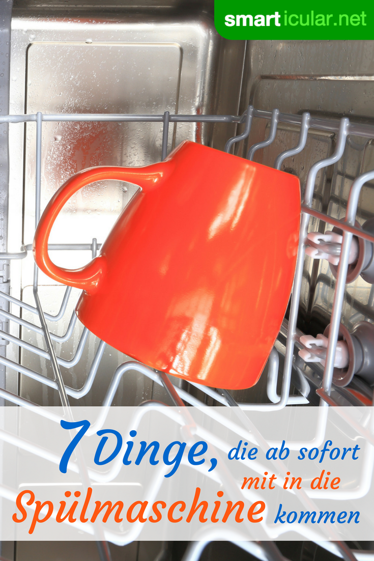 7 Dinge, die man einfach in der Spülmaschine reinigen kann | Tipps ...