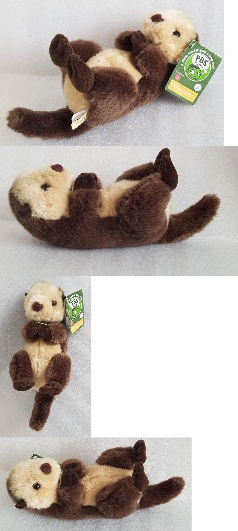 Aurora 158789 17 Miyoni Sea Otter Plush Stuffed Animal By Aurora