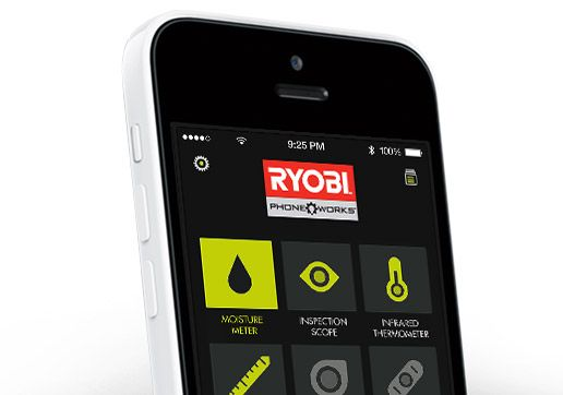 Turn your Phone into a smart Test & Measurement tool with Ryobi Phone Works!