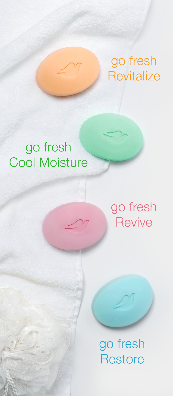 Dove Go Fresh Beauty Bars Come In Four Scents That Leave