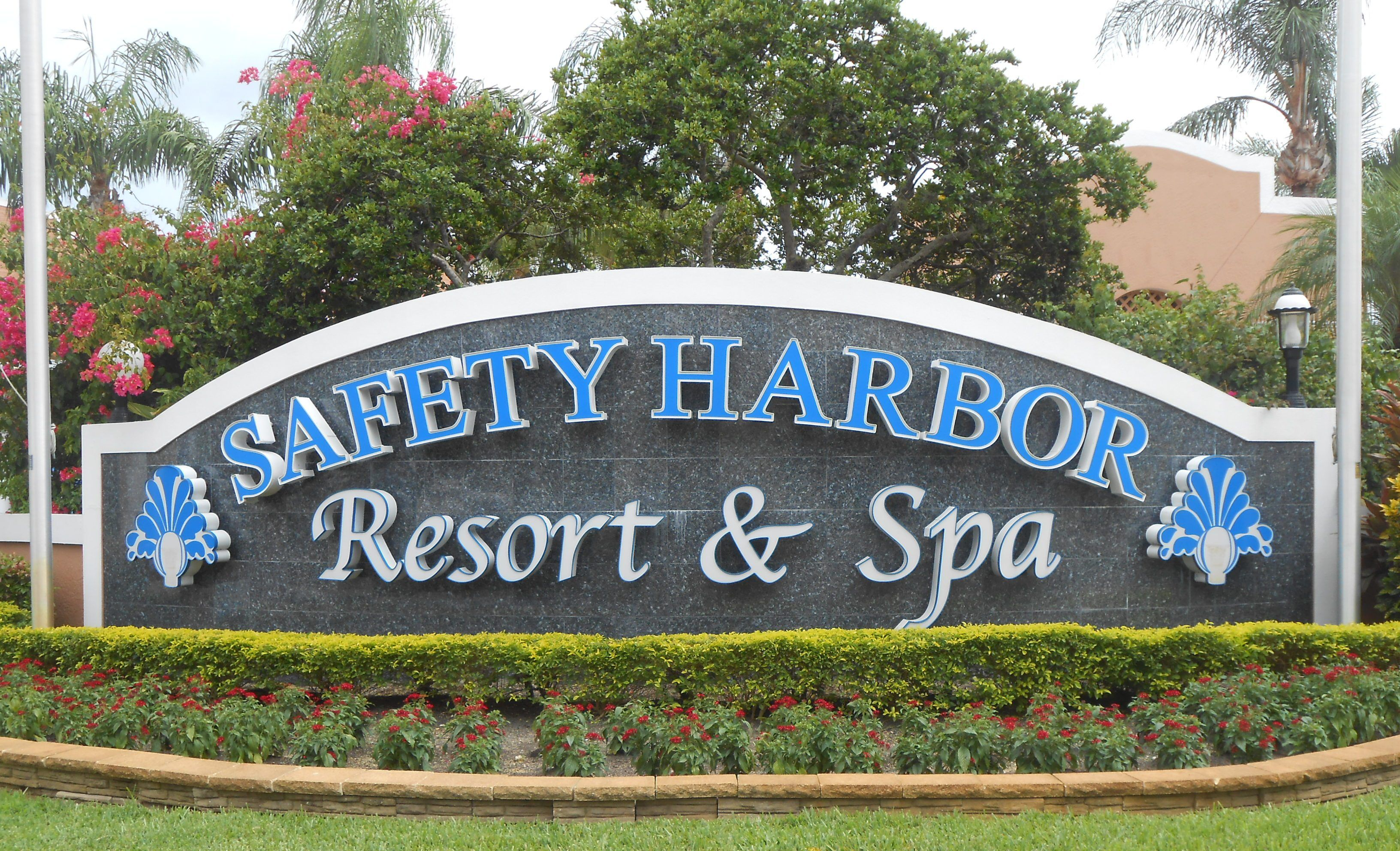 The big draw to the small town Safety harbor, Resort spa