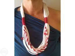 Resultado de imagem para moda colar de trapilho