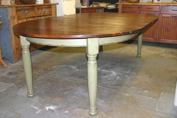 Staples Cabinet Makers Round Farm Table With Leaf Furniture - Staples round table