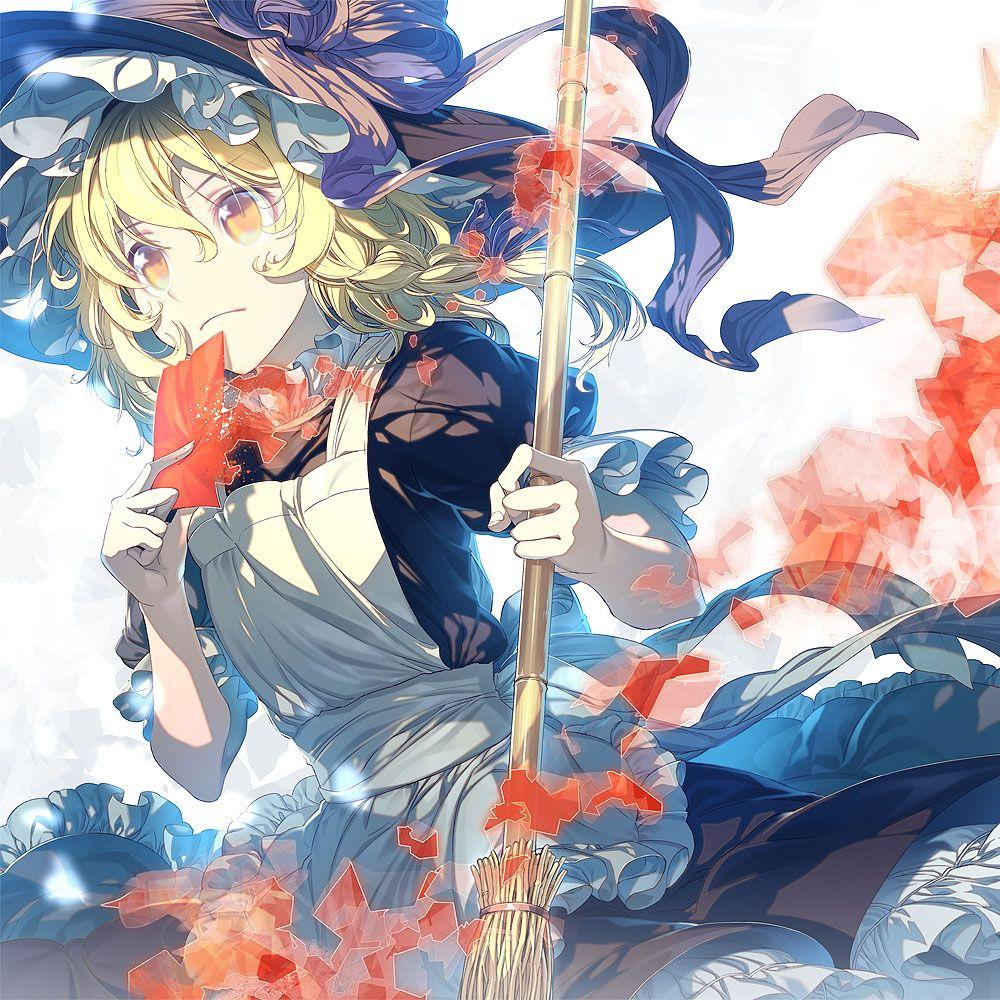 Marisa Kirisame Touhou Project Anime Characters Anime Anime