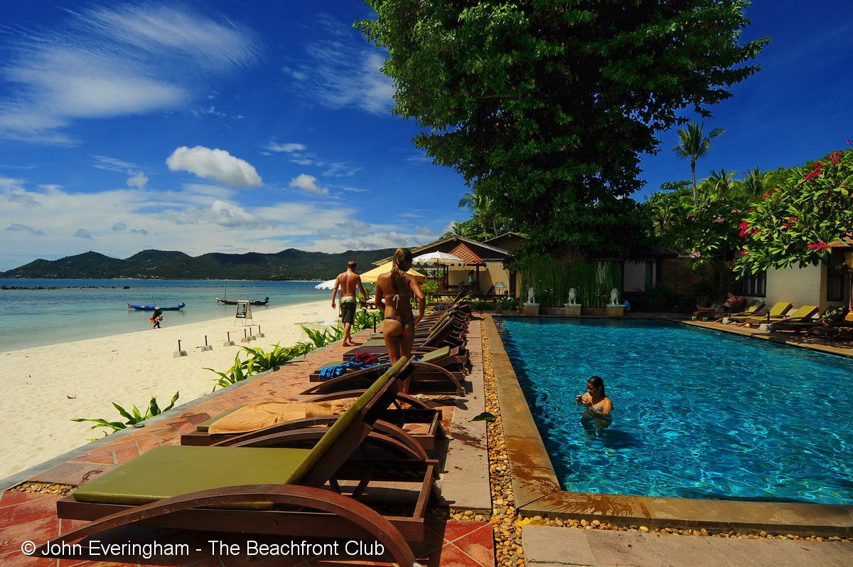 Chaweng beach koh samui thailand chaweng villa is one of a long string
