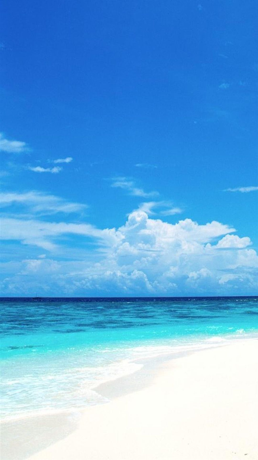 Pure Clear Seaside Beach Landscape Iphone 6 Plus