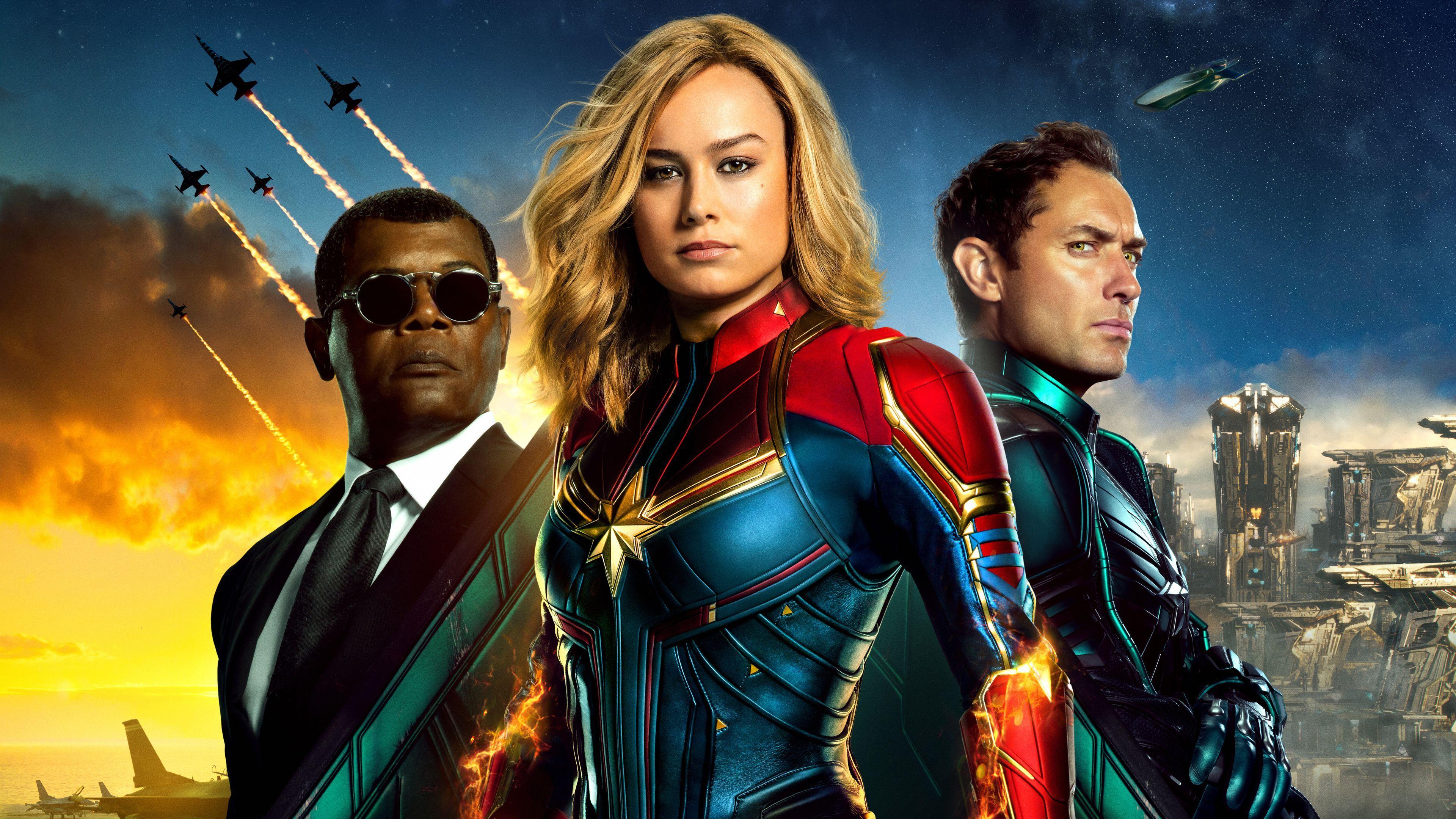 Captain Marvel New Poster 4k Poster Wallpapers Movies Captain Marvel Marvel Avengers Funny Marvel Avengers Assemble