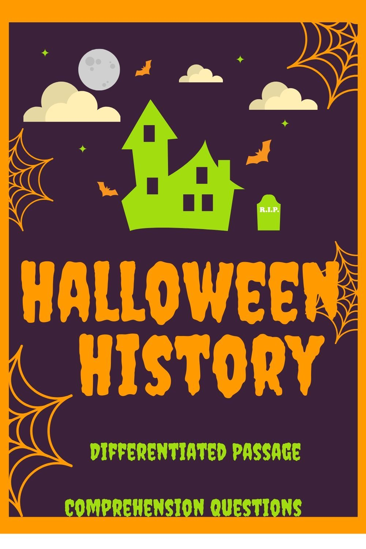 Halloween History Halloween History Reading Passages Upper Elementary Reading [ 1500 x 1000 Pixel ]