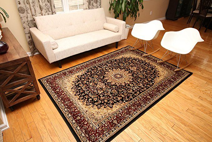 Feraghan New City Traditional Isfahan Wool Persian Area Rug