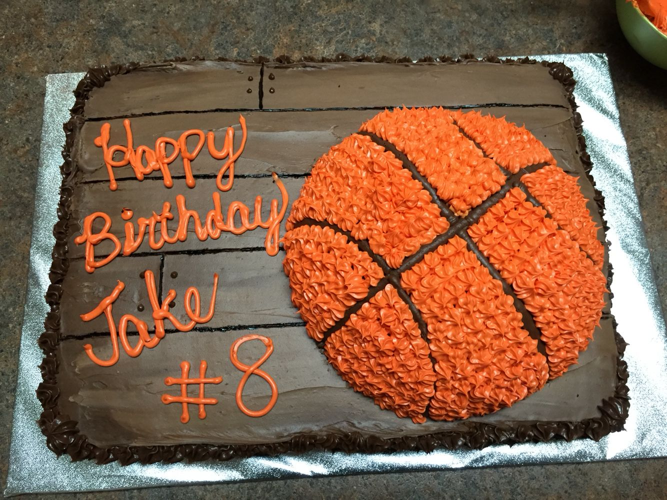 Basketball Cake Food Decorating Pinterest Basketball Birthday