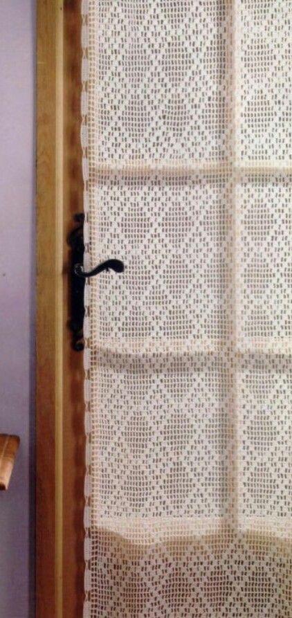 Picasa Web Albums Filet Crochet Curtains Pattern Diagram