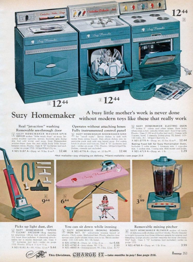Who is Suzy Homemaker? See the vintage toy sets that started it all - Click Americana