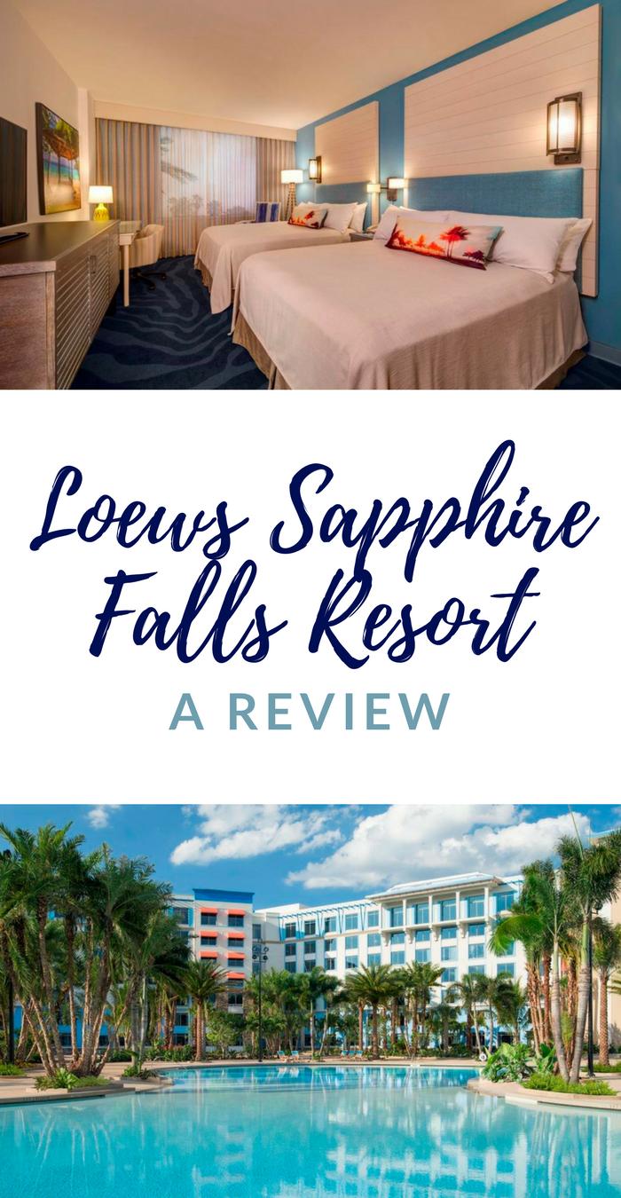 Loews Sapphire Falls Resort, Universal Orlando Resort Review ...