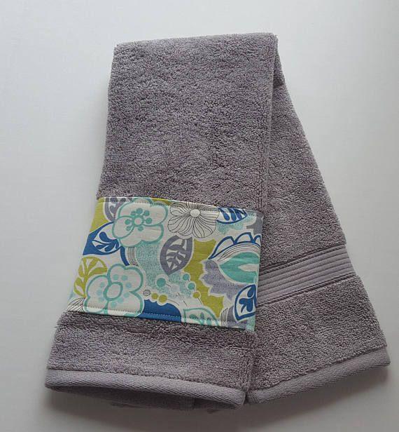 Bathroom Towels Decorative Towels Floral Towels Grey Custom Home - Grey decorative towels for small bathroom ideas