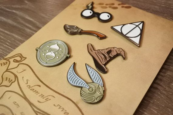 Harry Potter pin set | enamel lapel pins