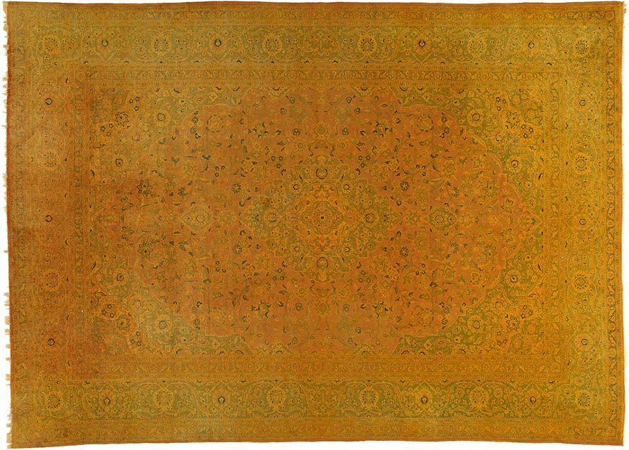 Orientteppich zimmer  Gelb (-er) Teppich by KISKAN PROCESS HAMBURG, Orientteppich ...