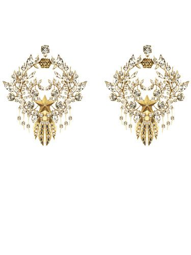 Ornate Givenchy by Riccardo Tisci earrings