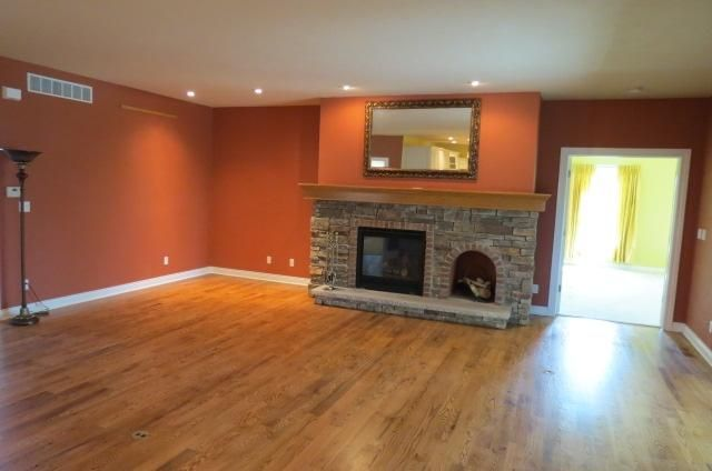 Rust Wall Color For Upstairs Gameroom Home Decor