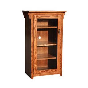 American Mission Oak Tall Stereo Cabinet Stereo Cabinet Mission Furniture Southwest Furniture