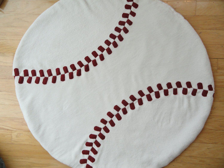 Baseball Floor Quilt | gift ideas | Pinterest