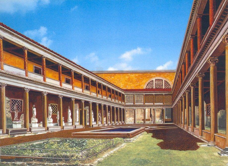 casa de las vestales Buscar con Google Ancient rome