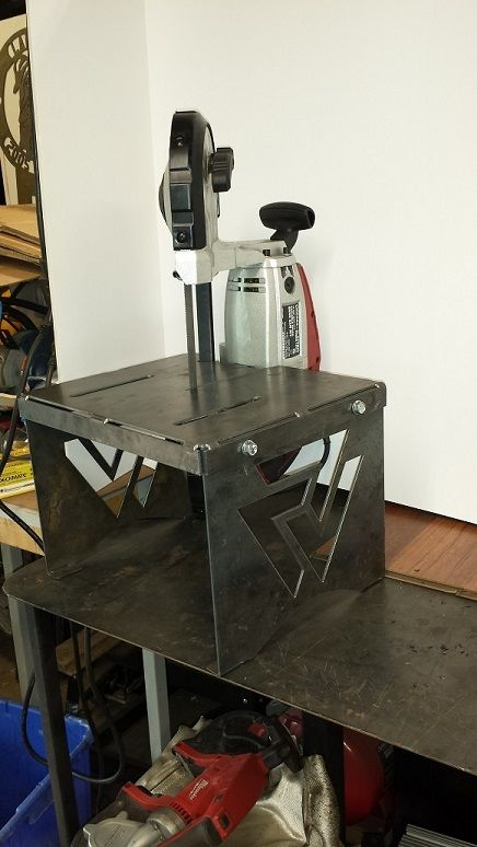 Harbor Freight DIY Tool Hacks Portable Bandsaw stand