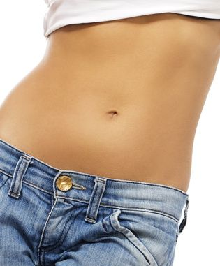 If you want a flat belly, don't eat fast!