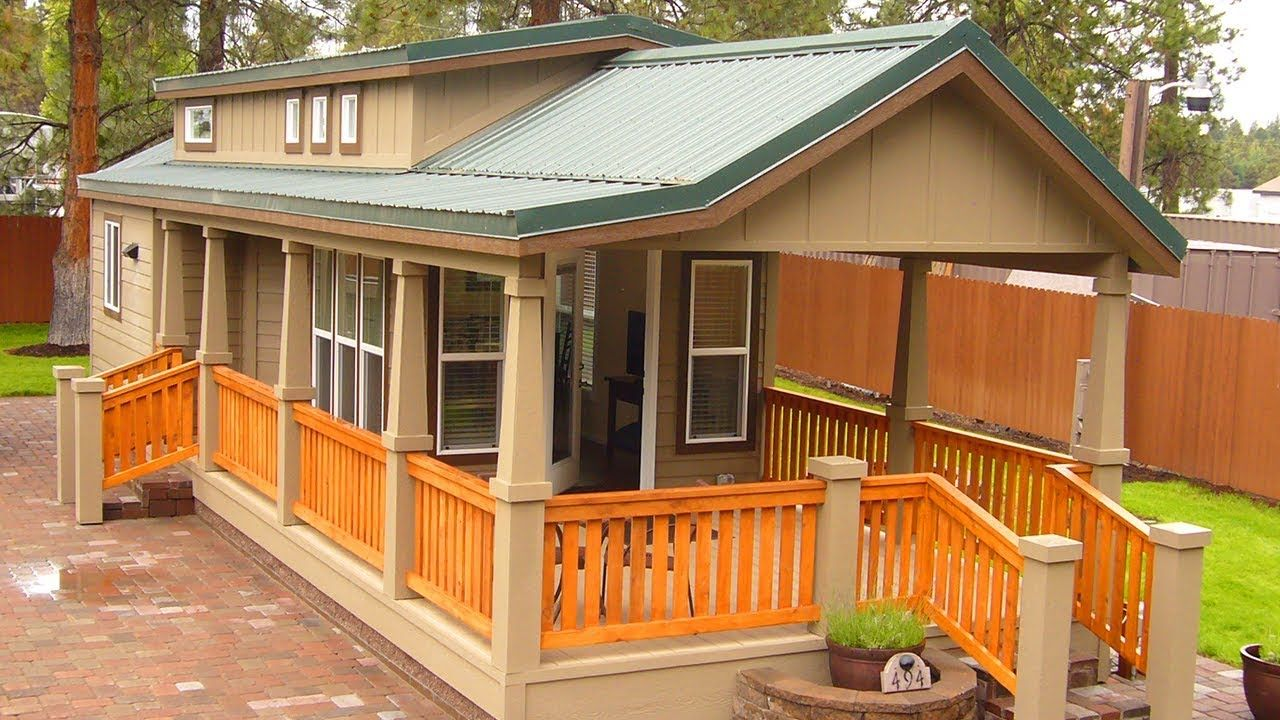 Luxury Park Model With 1 Bedroom 1 Bath Unit and
