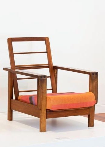 Chair Furniture Emporium fred ward; australian hardwood 'unit range' lounge chair for the