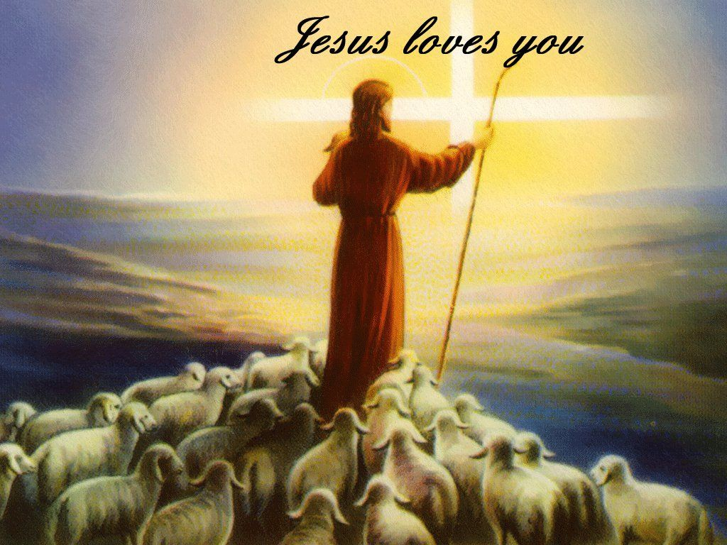 I Love You Jesus christ jesus loves you show the followers the way - christian Wallpaper I ...