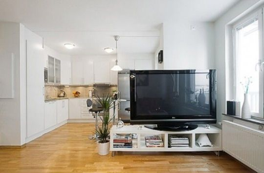 How To Use A Tv As A Room Divider Tv Stand Room Divider