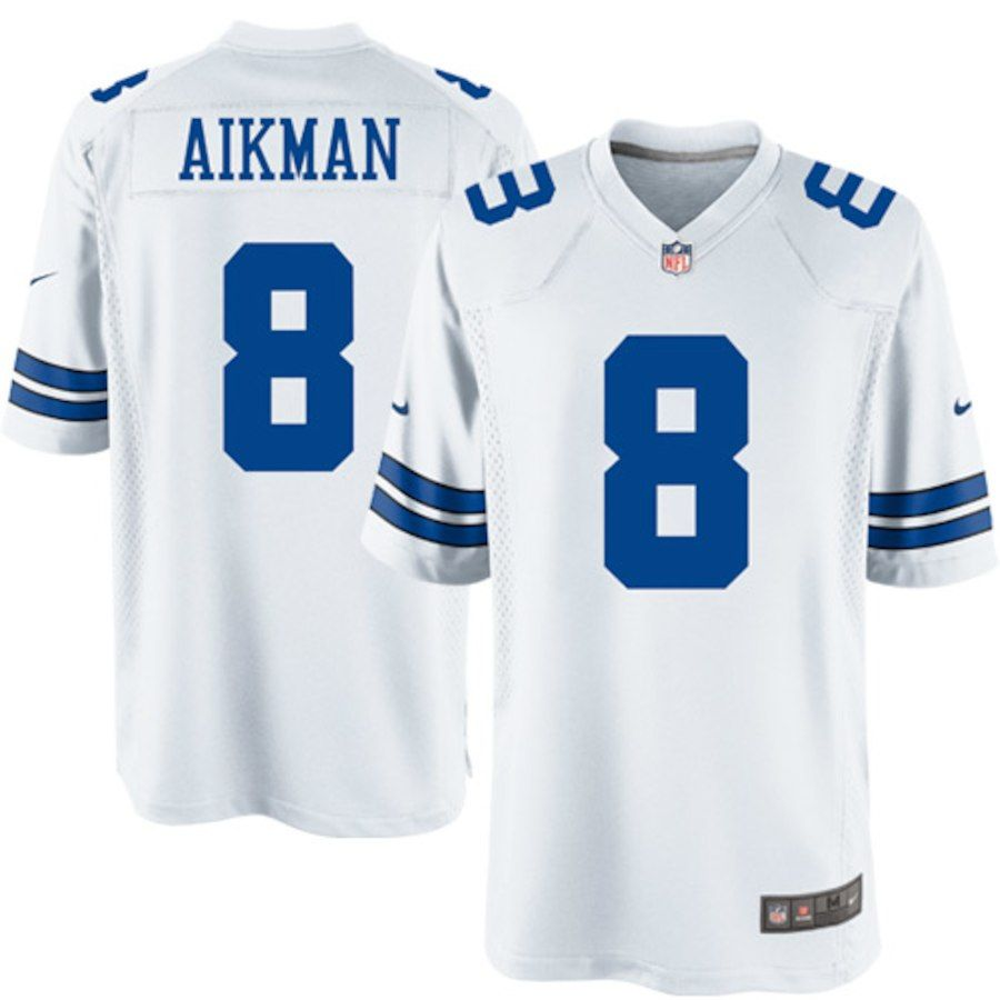 Men's Dallas Cowboys Troy Aikman Nike White Legends Replica Jersey  supplier