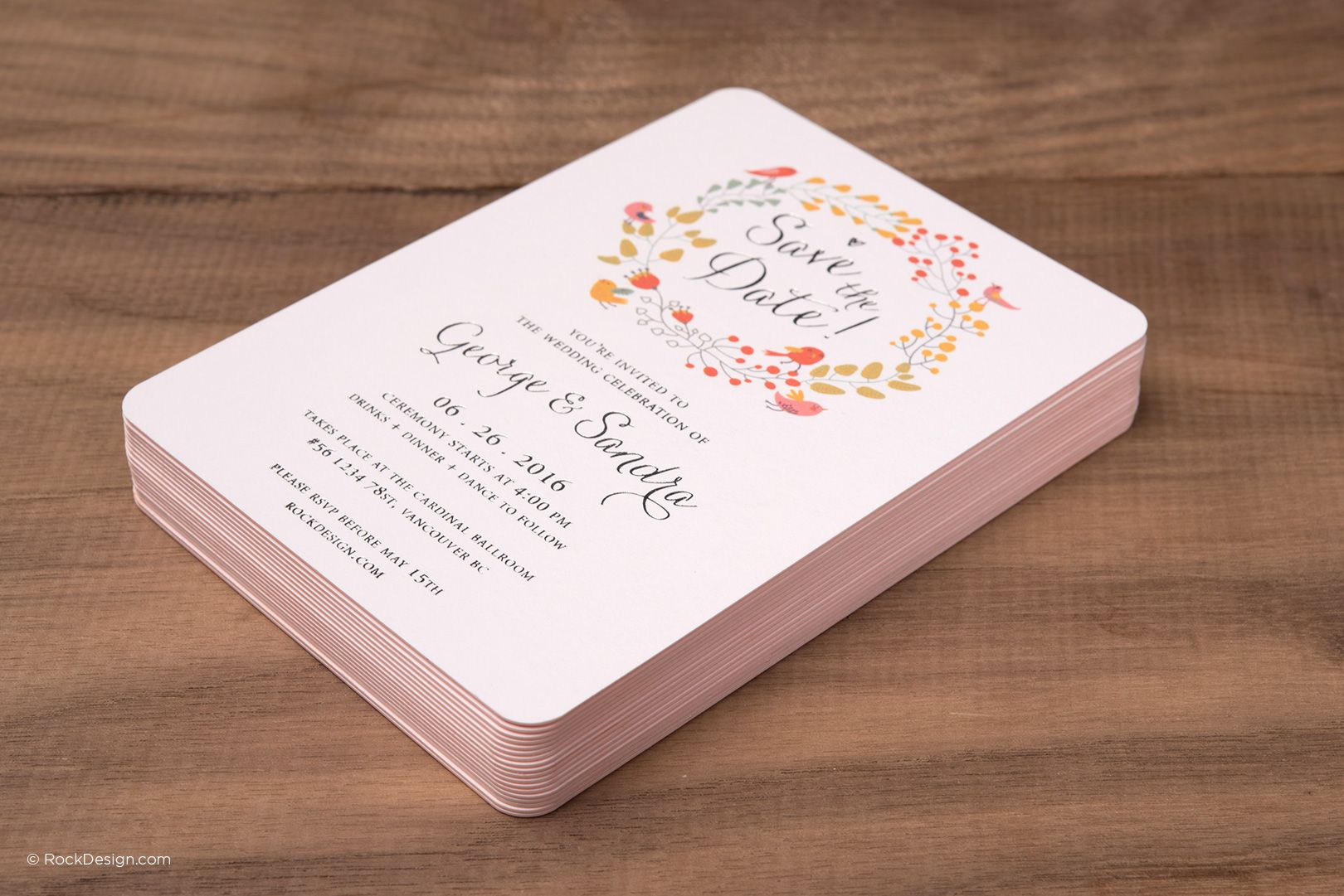 Smooth uncoated invitation cards rockdesign luxury business card high end business cards and free business cards templates magicingreecefo Choice Image